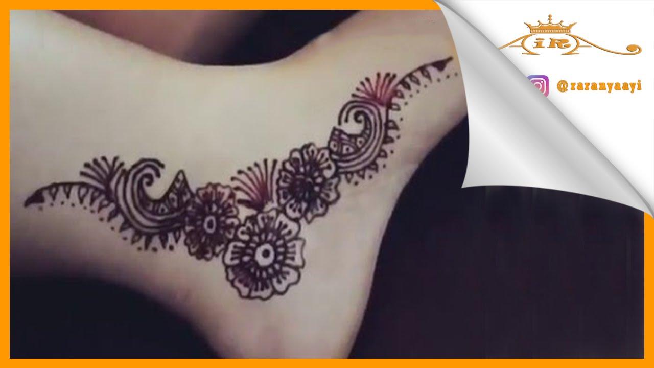 Henna Kaki Simple Dan Cantik