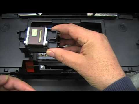 How to remove and clean a Canon printhead