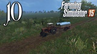 Средняя полоса России 10 Пора браться за плуг Farming Simulator 15