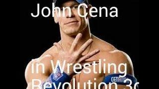 wrestling revolution 3d how to make john cena