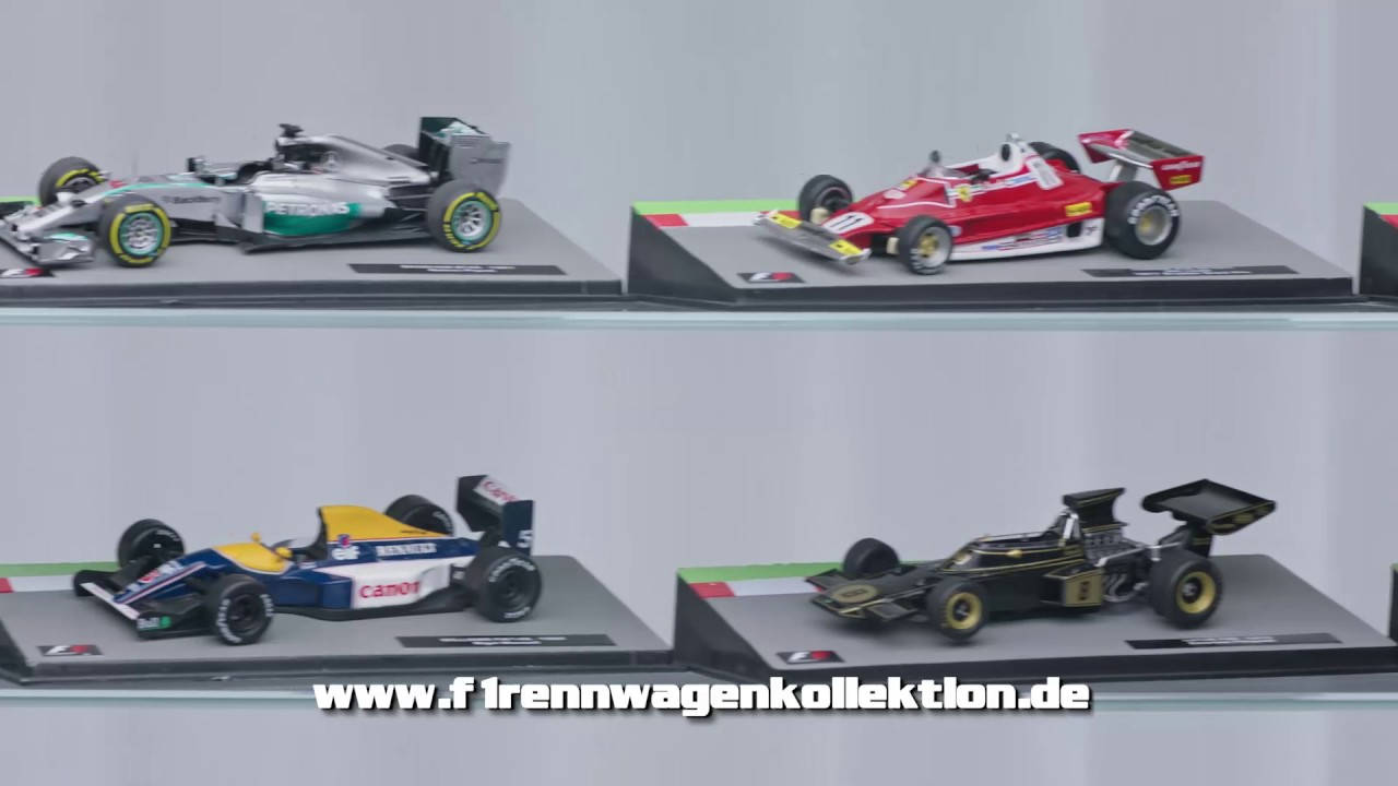 formula 1 rennwagen kollektion tv spot 10 sekunden 1. Black Bedroom Furniture Sets. Home Design Ideas