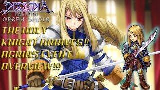 Dissidia Final Fantasy: Opera Omnia THE HOLY KNIGHT ARRIVES! AGRIAS EV