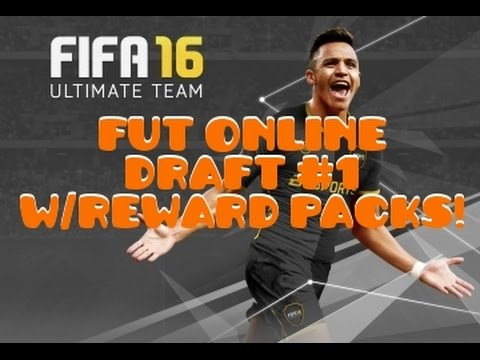 FIFA 16 - ULTIMATE TEAM - FUT ONLINE DRAFT #1 - FULL GAMEPLAY - REWARD PACK OPENING - PS4/XBOX ONE!