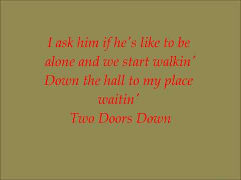Dolly Parton- Two Doors Down (Lyrics)
