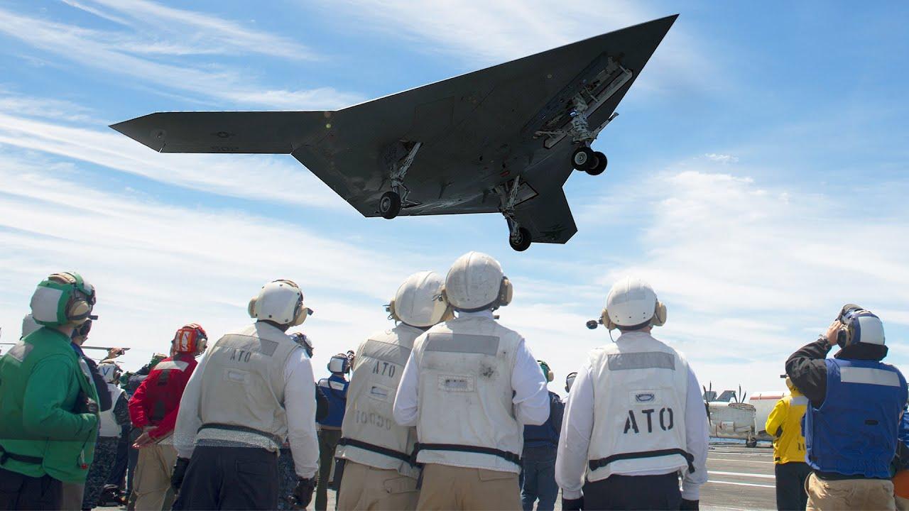 Download US Testing its Brand New $1 Billion Advanced Aircraft: X-47B Drone