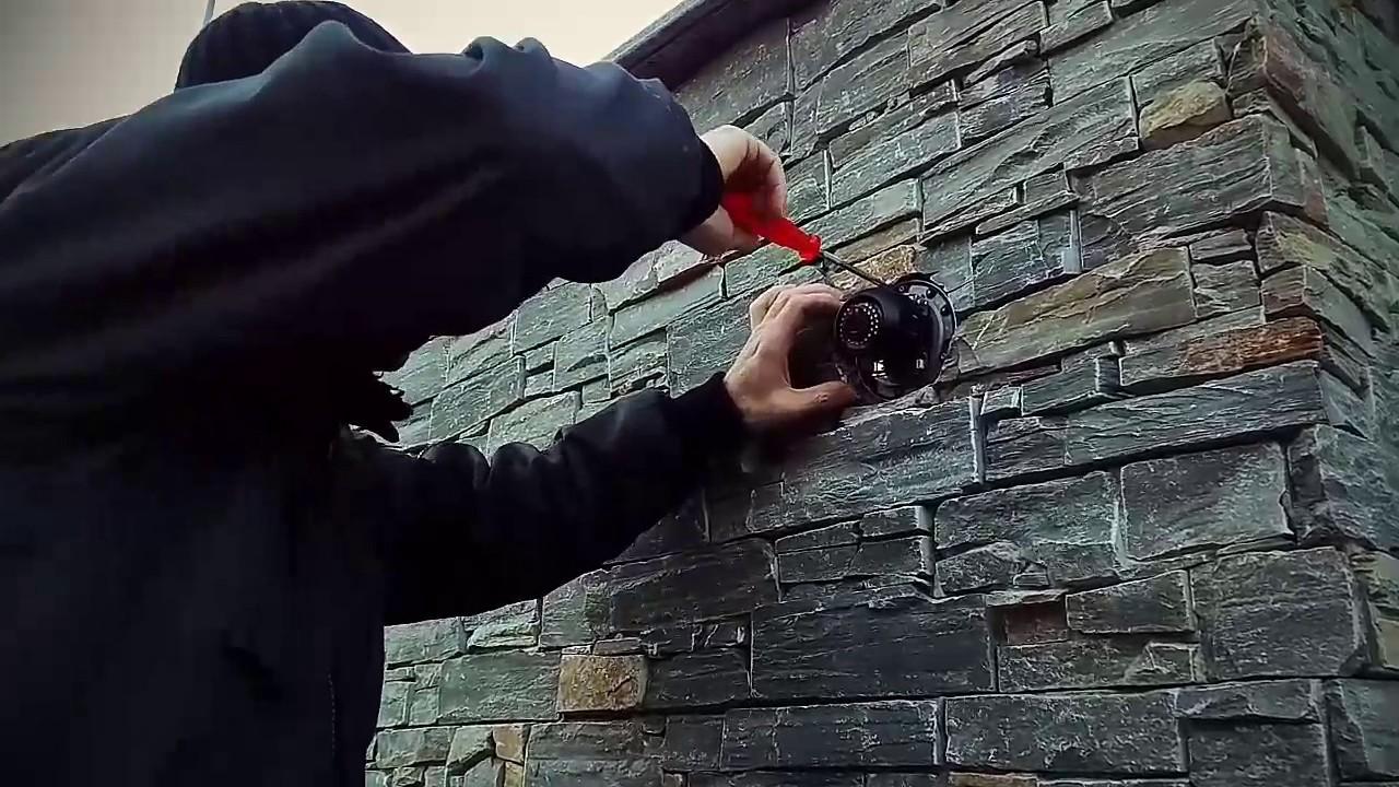 Hikvision Wall Mounted Dome Camera Videosorveglianza By