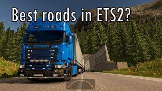 Best roads in Euro Truck Simulator 2?
