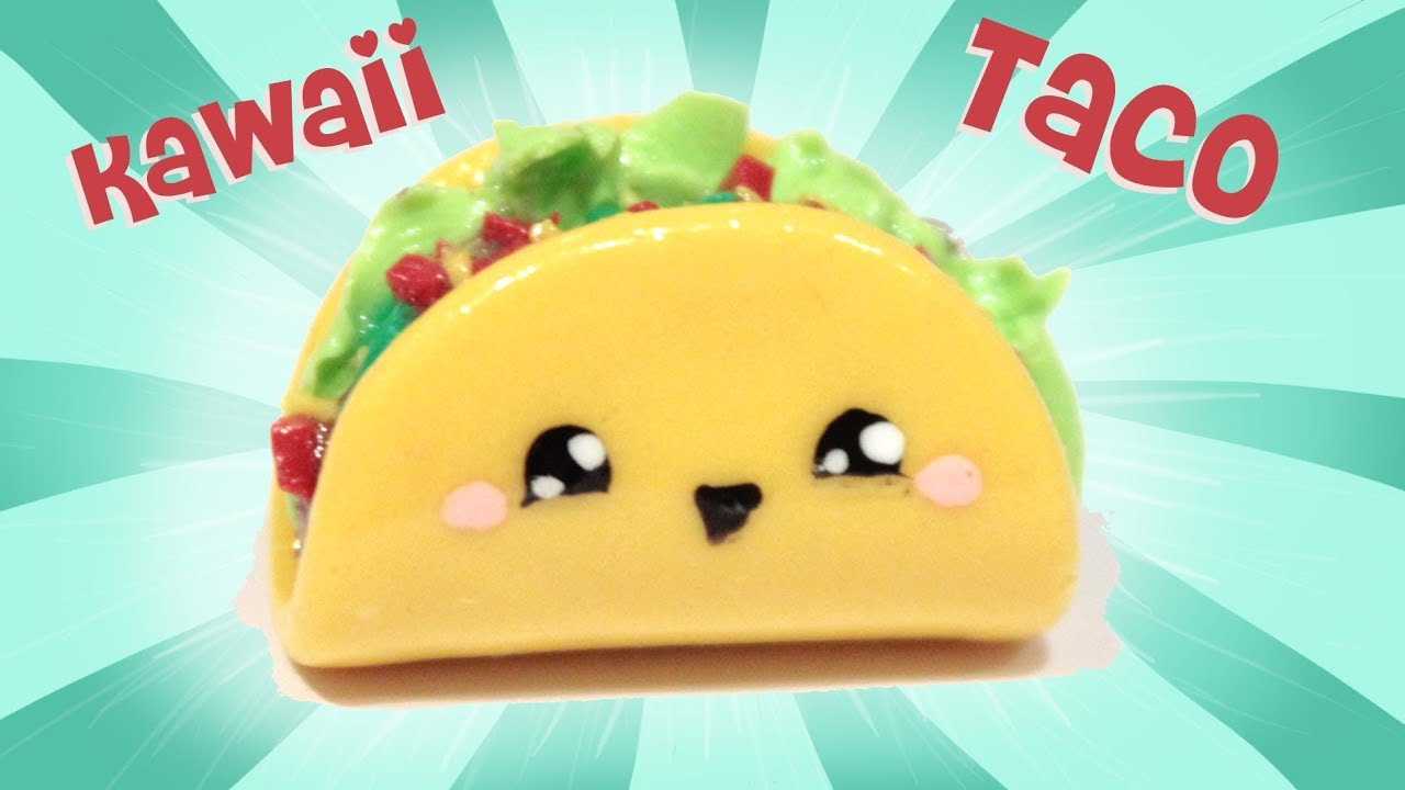Best Cute Girly Wallpapers Taco Kawaii Friday 109 Tutorial In Polymer Clay Youtube