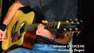 Takamine GD10CE-NS: Soundcheck, test