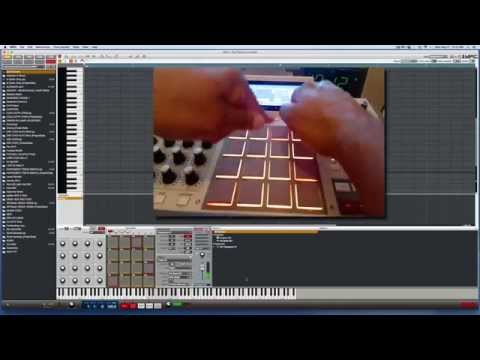 Akai MPC Tutorial - How to play Single Notes & Chords w/ MPC Pads
