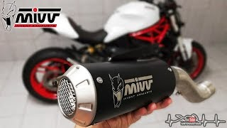 Ducati Monster 821 | MIVV MK3 Exhaust | Install + Sound!