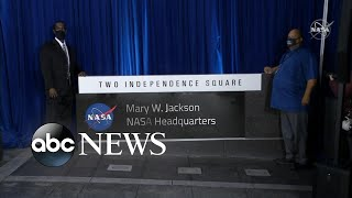 NASA names DC headquarters after Mary W. Jackson
