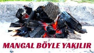 Mangal Nasıl Yakılır En Basit Yöntem | Çırayla Mangal Nasıl Yakılır ?