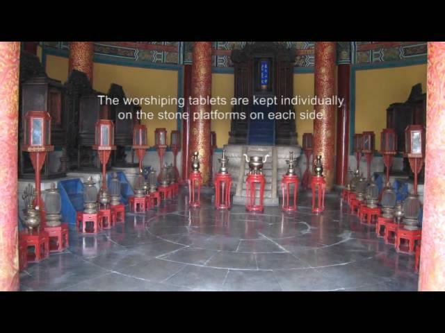 2) Beijing, China - Temple of Heaven & YongHeGong Lamasery - HD
