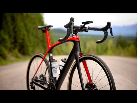 Trek Domane SL5 105 Disc Road Bike 2020 Rage Red/ Black