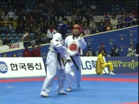 Kim Hye Mi vs Wan Chen Chang   2001 World Championships