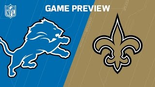 Lions vs. Saints (Week 13 Preview) | Around the NFL Podcast | NFL