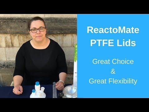 ReactoMate PTFE Lids - YouTube