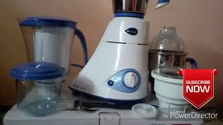 Preethi Blue Leaf platinum Heavy duty mixer grinder under 4700/- unboxing review