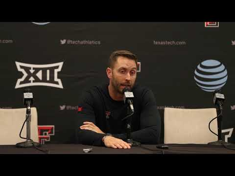 Kliff Kingsbury talks about how his team competed throughout the season.