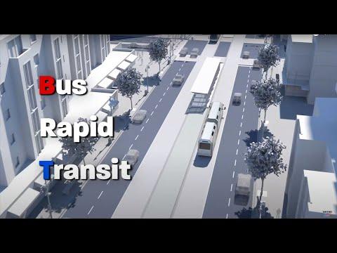 A Sneak Peek At Houston's First Bus Rapid Transit