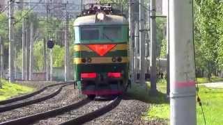 ЧС7-141 с поездом №58