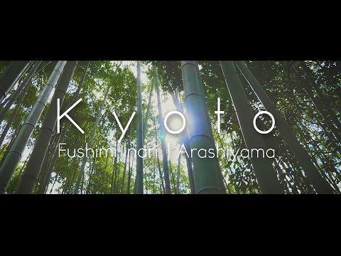 [4k] Kyoto - Fushimi Inari | Arashiyama