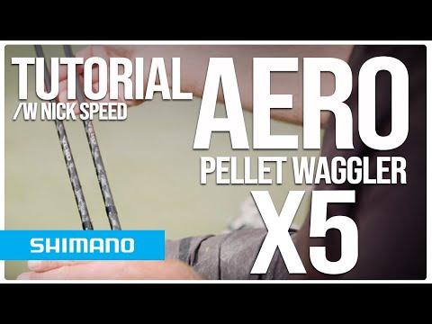 AERO X5 Pellet Waggler - Tutorial /w Nick Speed | Shimano Fishing EU
