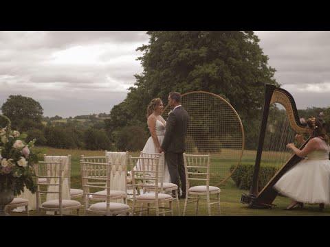 Fillongley Hall Wedding Video - Styled Shoot 2