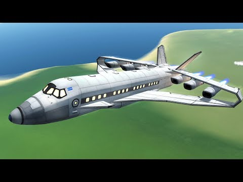 KSP: Box-wing Supersonic Airliner!