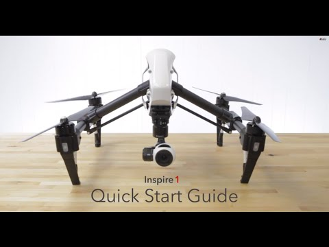 DJI Inspire 1 Quick Start Guide by AerialMediaPros.com