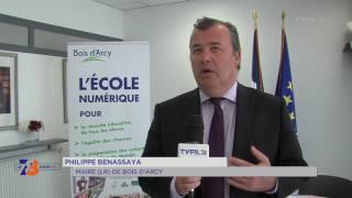 Bois d'Arcy : coup d'envoi pour la fibre