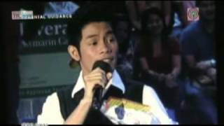 "Bugoy Drilon singing ""Paano Na Kaya"" ""Muli"" on Wowowee"