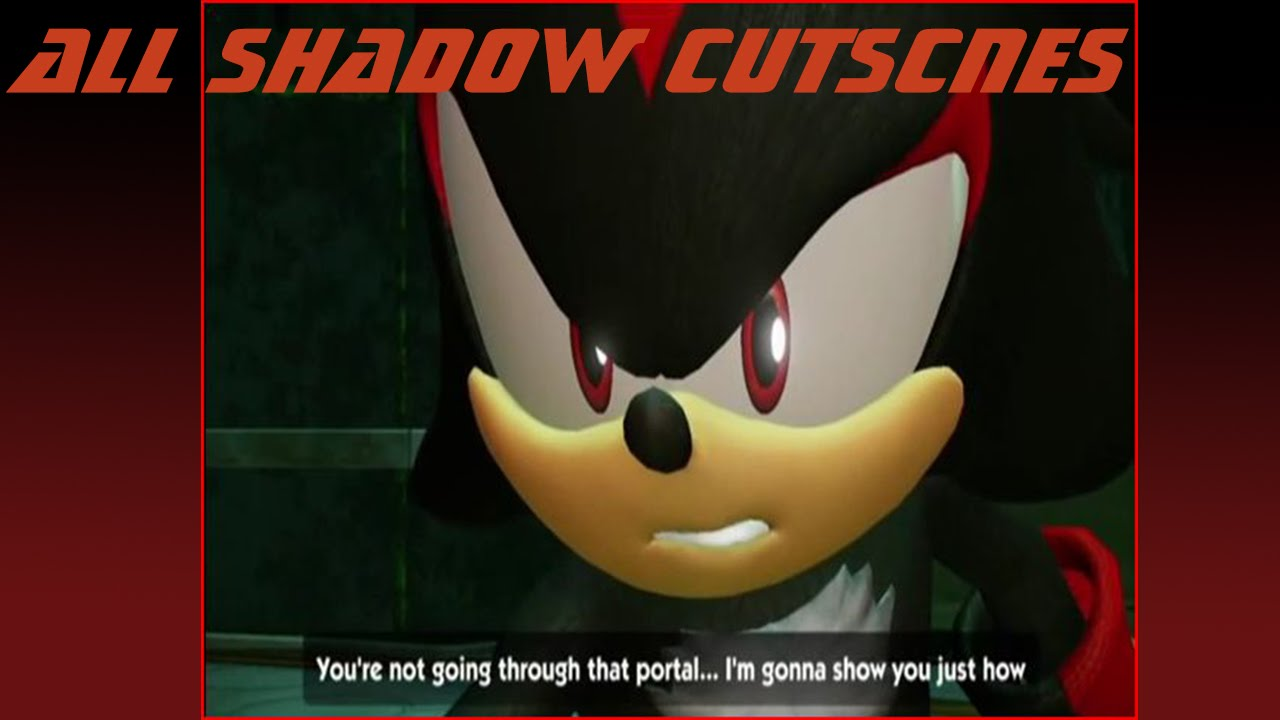 All Shadow the Hedgehog Sonic Boom Cutscenes [HD]