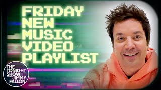 Jimmy Fallon's Friday New Music Video Playlist: BTS, Taylor Swift, Demi Lovato | The Tonight Show