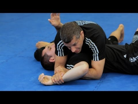 How to Do an Americana from Side Control   MMA Submissions