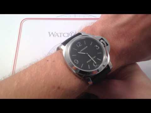 Panerai Luminor PAM 112 Luxury Watch Review