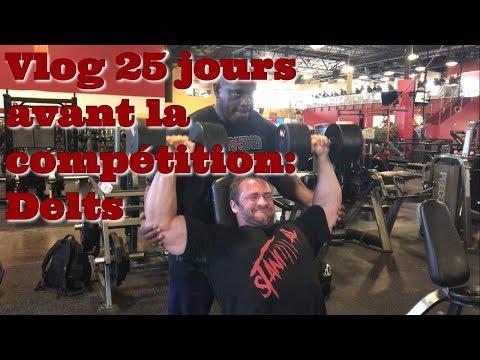 STANIMAL Vlog 25 jours avant la compétition: Delts