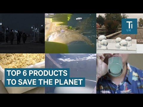6 innovative products helping to save the environment