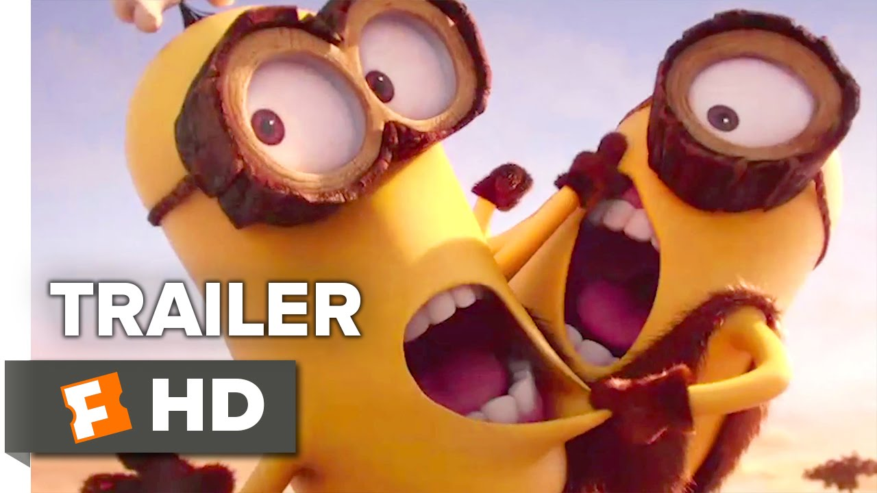 Minions Blu-Ray Trailer (2015) - Despicable Me Prequel Movie HD