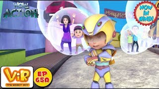 Vir: The Robot Boy | Bubble Man | As Seen On HungamaTV | WowKidz Action