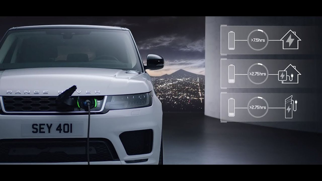 New Range Rover Sport Plug In Hybrid Electric Vehicle