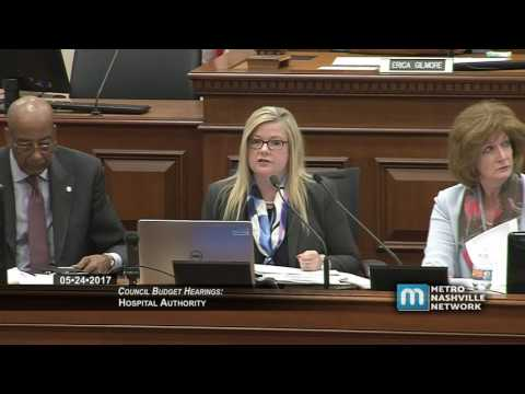 Council Budget Hearings - Hospital Authority May 24, 2017