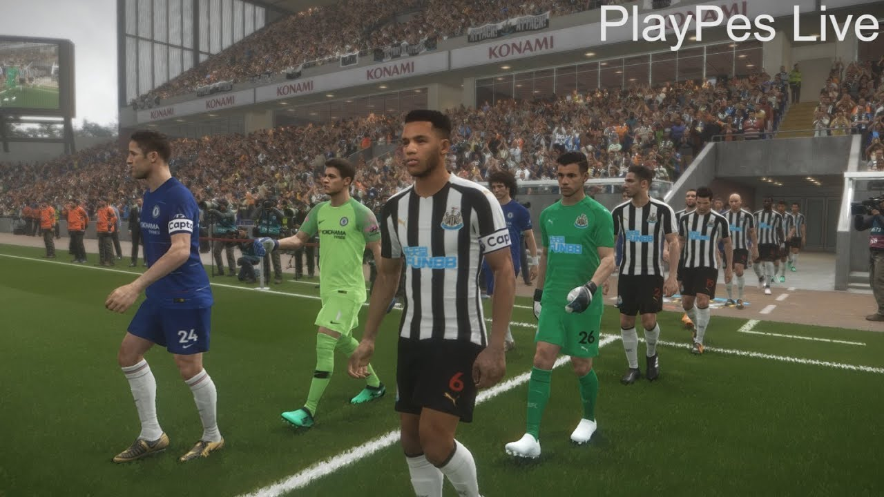 Download PES 2018 - NEWCASTLE UNITED vs CHELSEA - Full Match & All Goals - PC Gameplay 1080p HD