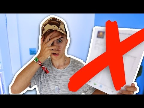 OPENING MY GCSE RESULTS ON CAMERA (REACTION) | 2016