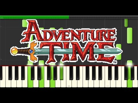 Adventure Time Im Just Your Problem Piano Tutorial Synthesia