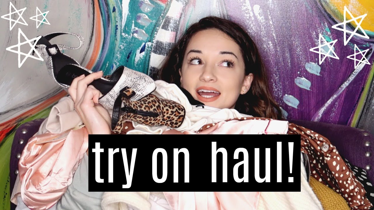 f7ff7ece09 HUGE try on haul: boohoo + forever 21 - YouTube