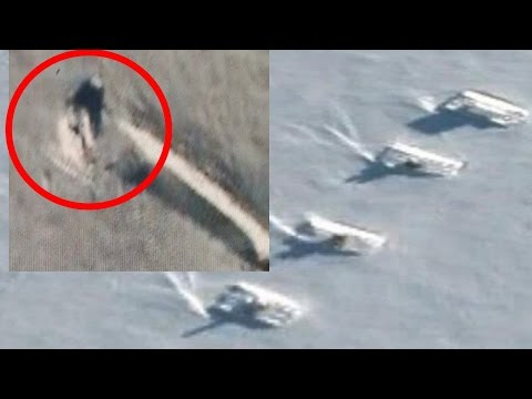 Tanks Guard Crashed UFO In Antarctica?