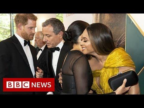 When Meghan met Beyonce - BBC News