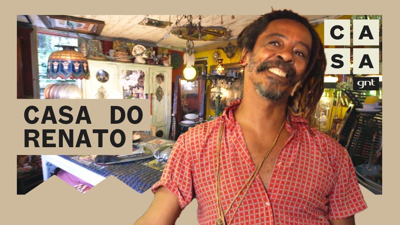 Renato Pascoal apresenta sua casa repleta de arte e objetos reutilizados no Rio de Janeiro | Lar